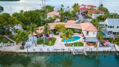 Key West FL Single Family Home For Sale: $5,495,000