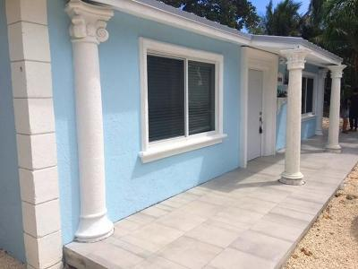 Monroe County Single Family Home For Sale: 58080 Overseas Highway