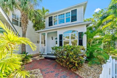 Key West FL Single Family Home For Sale: $2,050,000
