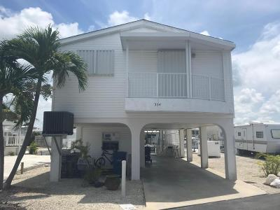 Monroe County Mobile/Manufactured For Sale: 701 Spanish Main Drive #354