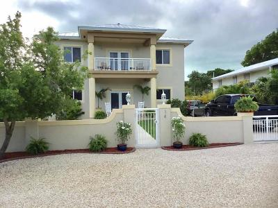 Key Largo Single Family Home For Sale: 14 Fishermans Trail