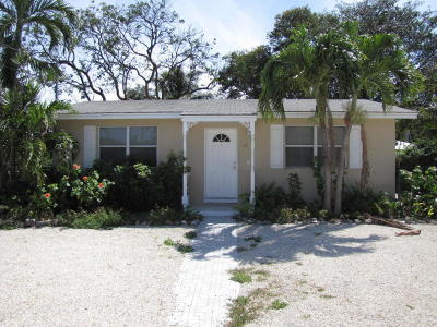 Key Largo Single Family Home For Sale: 21 Abaco Road