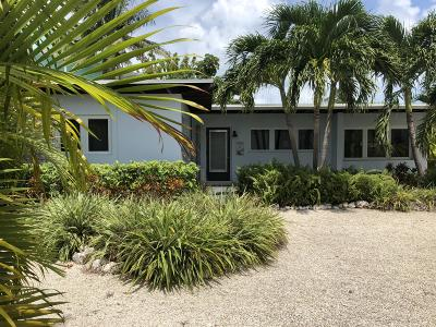 Islamorada Single Family Home For Sale: 149 Venetian Drive