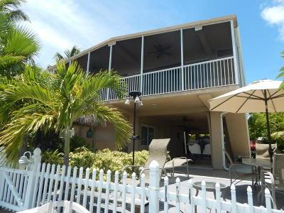 Tavernier Single Family Home For Sale: 114 Azalea Street