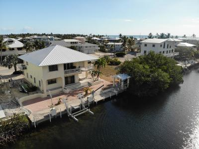 Islamorada Single Family Home For Sale: 59 Plaza Del Sol