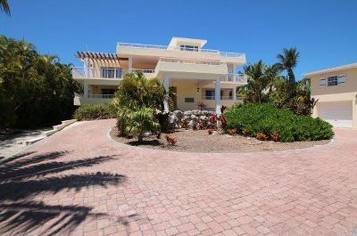 Single Family Home For Sale: 619 Sombrero Beach Road