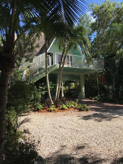 Key Largo Single Family Home For Sale: 241 Buttonwood Shores Drive