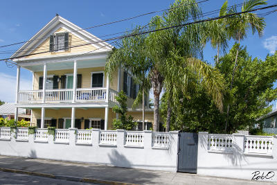 Key West Single Family Home For Sale: 1122 Whitehead Street