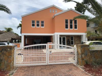 Key Largo Single Family Home For Sale: 491 Caribbean Boulevard