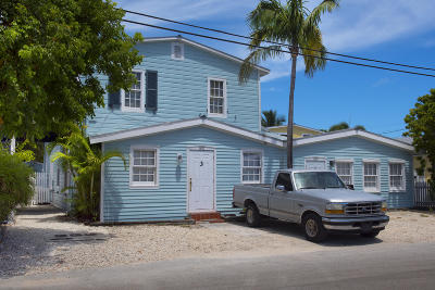 Key West Condo/Townhouse For Sale: 1209 William Street #4