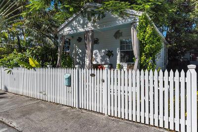 Key West Single Family Home For Sale: 1023 Thomas Street