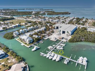 Big Pine Key, County, Islamorada, Key Colony, Key Colony Beach, Key Largo, Key West, Layton, Long Key, Marathon, Other, Summerland Key, Tavernier Boat Slip For Sale: 12399 Overseas Highway #49
