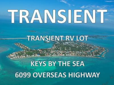 Marathon Residential Lots & Land For Sale: 6099 Overseas Highway #105E