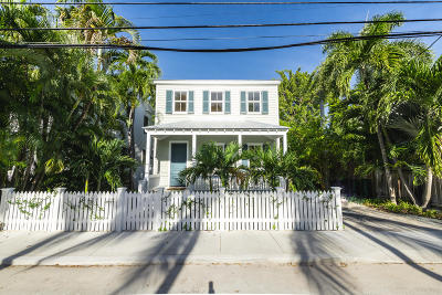 Key West FL Single Family Home For Sale: $2,400,000