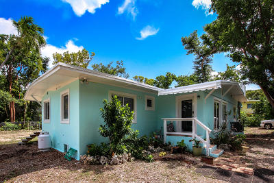 Islamorada Single Family Home For Sale: 144 Mohawk Street