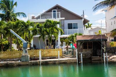 Monroe County Single Family Home For Sale: 838 Caribbean Drive