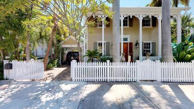 Key West FL Single Family Home For Sale: $2,745,000