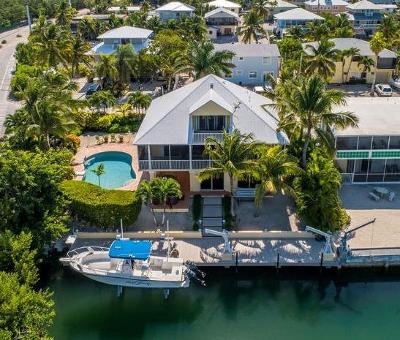 Islamorada Single Family Home For Sale: 100 Palo De Oro Drive