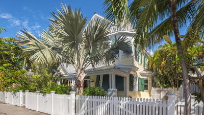 Key West FL Single Family Home For Sale: $2,650,000
