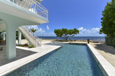 Islamorada, Key Largo Single Family Home For Sale: 70 Ocean Front Drive