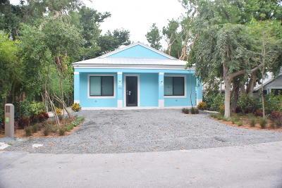 Tavernier Single Family Home For Sale: 142 Pacific Avenue