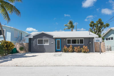 Key Largo Single Family Home For Sale: 15 Orange Drive