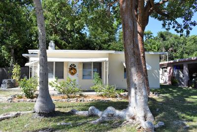 Key Largo Single Family Home For Sale: 645 Cabrera Street