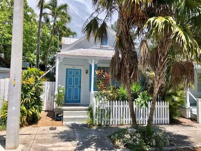 Key West Single Family Home For Sale: 605 Margaret Street