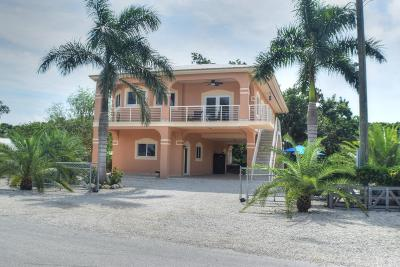 Key Largo Single Family Home For Sale: 1 Abaco Road