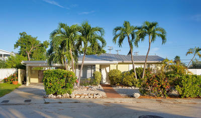 Key West Single Family Home For Sale: 3405 16th Terrace