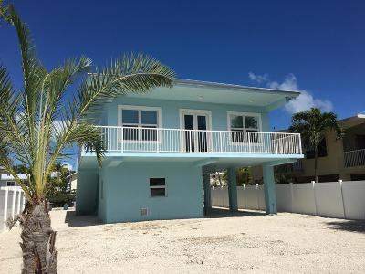 Islamorada FL Single Family Home For Sale: $950,000