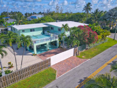 Islamorada Single Family Home For Sale: 101 Nautilus Drive