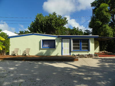 Key Largo Single Family Home For Sale: 32 Pirates Drive