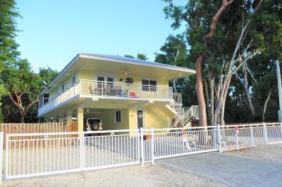 Key Largo Single Family Home For Sale: 578 Boyd Drive