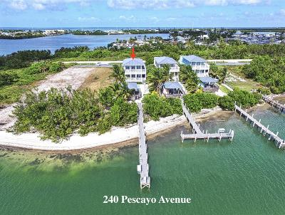 Coco Plum Beach (54.5) Single Family Home For Sale: 240 Pescayo Avenue