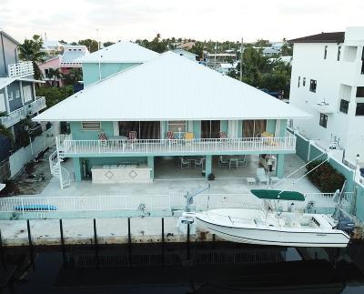 Key Largo Single Family Home For Sale: 130 Marina Avenue