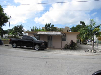 Key Largo Single Family Home For Sale: 34 Lakeview Drive