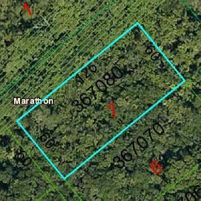 Marathon Residential Lots & Land For Sale: L7 Vacant- Rogo
