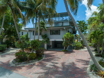 Islamorada Single Family Home For Sale: 305 North Drive