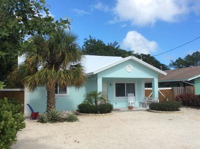 Key Largo Single Family Home For Sale: 6 Snapper Avenue
