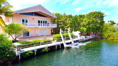 Islamorada FL Single Family Home For Sale: $1,299,000