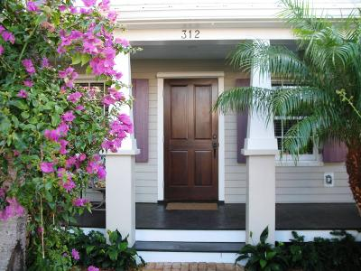 Key West Single Family Home For Sale: 312 Virginia Street