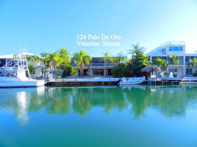 Islamorada Single Family Home For Sale: 124 Palo De Oro Drive