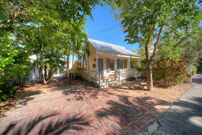 Key West FL Single Family Home For Sale: $1,550,000