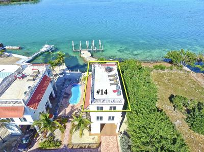 Condo/Townhouse For Sale: 12400 Overseas Highway #14