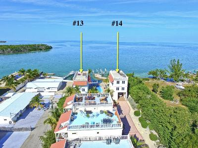 Condo/Townhouse For Sale: 12400 Overseas Highway #13 & 14