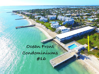 Key Colony Condo/Townhouse For Sale: 721 W Ocean Drive #16