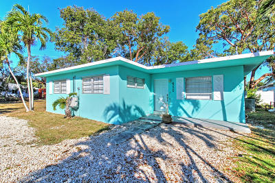 Key Largo Single Family Home For Sale: 411 Collins Street