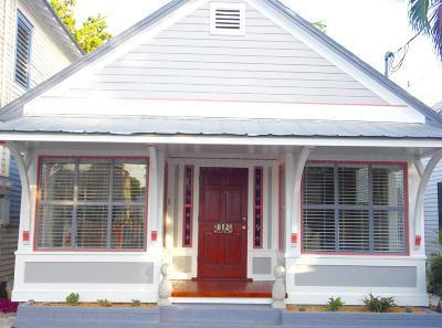 Key West, Stock Island, Geiger, Key Haven, Shark Key Single Family Home For Sale: 812 Olivia Street