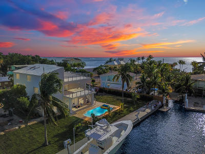 Key Largo Single Family Home For Sale: 64 N Blackwater Lane